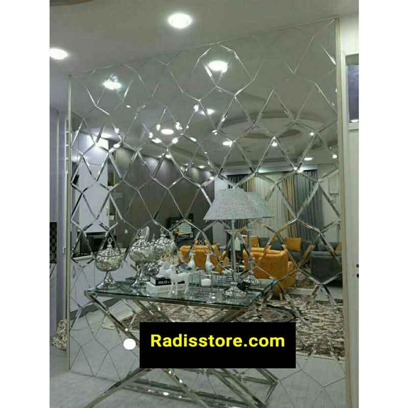 آینه دکوراتیو طرح الماس