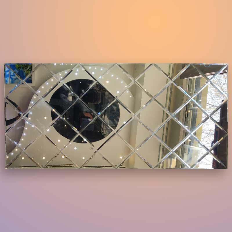 آینه نقره ای سوپر کیلیر ابعاد 2 در 1